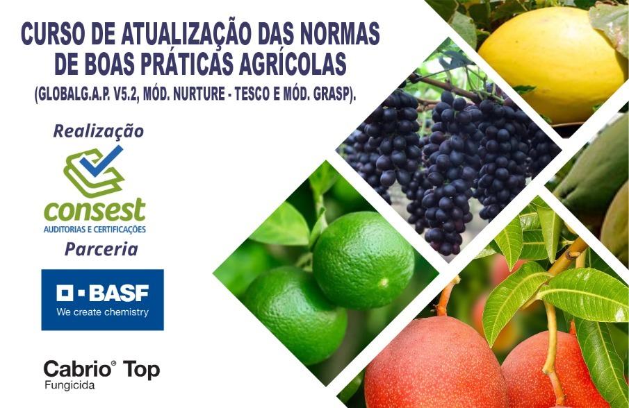 Curso de atualização das normas de boas práticas agrícolas